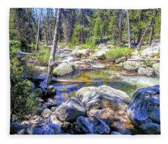 Yosemite 3 Fleece Blanket