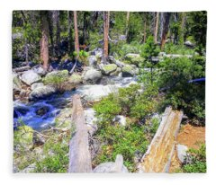 Yosemite 4 Fleece Blanket