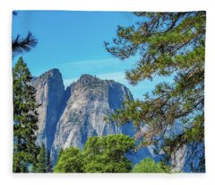 Yosemite Morning Fleece Blanket
