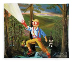 Young Explorer Fleece Blanket