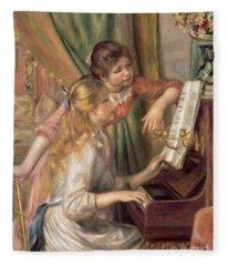 Renoir Fleece Blankets