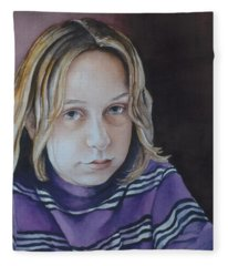 Young Mo Fleece Blanket