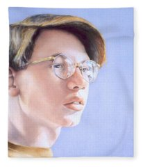 Young Nate Fleece Blanket