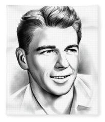 Young Reagan Fleece Blanket