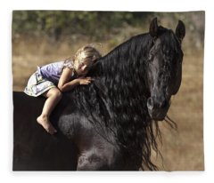 Young Rider Fleece Blanket