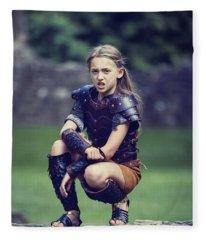 Young Warrior Fleece Blanket
