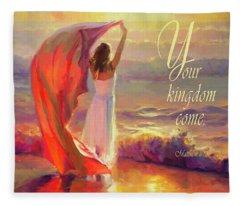 Your Kingdom Come Fleece Blanket