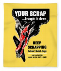 Your Scrap Brought It Down  Fleece Blanket