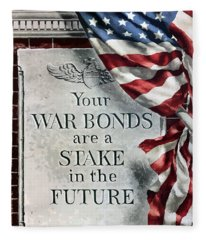 Your War Bonds Are A Stake In The Future Fleece Blanket