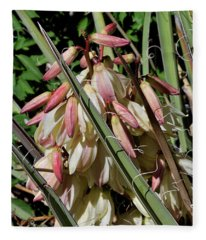 Yucca Bloom I Fleece Blanket
