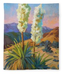 Yuccas Fleece Blanket