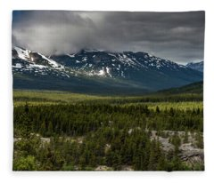 Yukon Wilderness Fleece Blanket