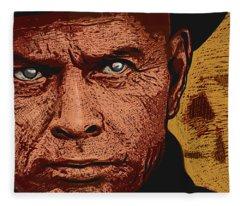 Yul Brynner Fleece Blanket