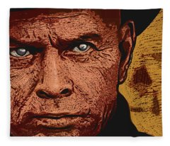 Yul Brynner Fleece Blanket