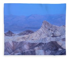 Zabriskie Point Dawn Fleece Blanket