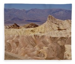 Zabriskie Point Fleece Blanket