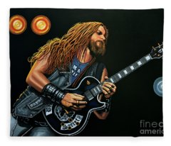 Zakk Wylde Fleece Blanket