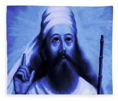 Zarathushtra Blue Fleece Blanket