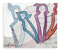 Shadow Zayin Z9 Fleece Blanket