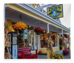 Zebs General Store, North Conway 1 Fleece Blanket