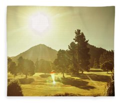 Zeehan Golf Course Fleece Blanket
