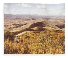 Zeehan Tasmania Fleece Blanket