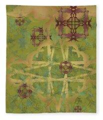 Zen Fly Colony Fleece Blanket