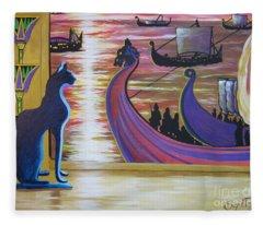 Zig Of Blaa Kattproduksjoner   Inspects The Ships Fleece Blanket