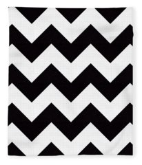 Zig Zag Pattern Fleece Blanket