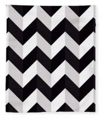Zig Zag - Shadow Fleece Blanket