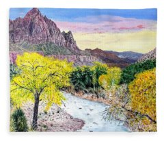 Zion Creek Fleece Blanket
