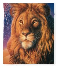 Zoofari Poster The Lion Fleece Blanket