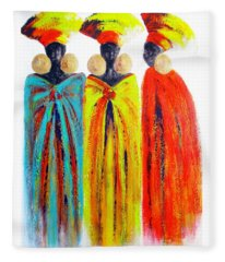 Zulu Ladies Fleece Blanket