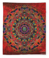 Zuni II 2015 Fleece Blanket