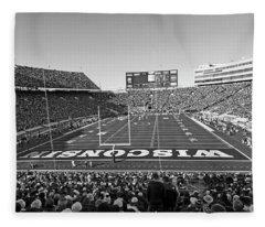 0095 Bw Camp Randall Stadium Fleece Blanket
