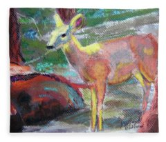 011719 Bambi 's Day Out Fleece Blanket