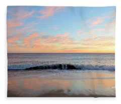 1/6/19 Obx Sunrise Fleece Blanket