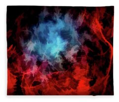 Abstract 53 Fleece Blanket