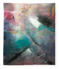 Abstract II Fleece Blanket