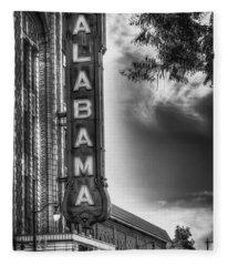Alabama Theatre Fleece Blanket