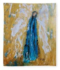Angel Of Sympathy Fleece Blanket