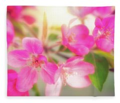 Apple Blossom 6 Fleece Blanket