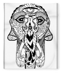 Artist Fleece Blanket
