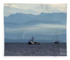 Beautiful British Columbia Fleece Blanket