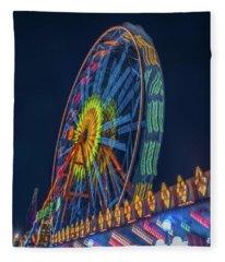 Big Wheel-2 Fleece Blanket