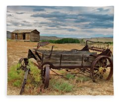 Bighorn Basin History Fleece Blanket