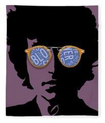 Blowin In The Wind Bob Dylan Fleece Blanket