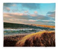 Bonavista Bay Fleece Blanket