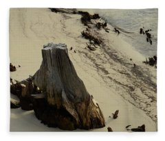 Broken Tree Fleece Blanket