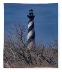 Cape Hatteras Lighthouse Fleece Blanket